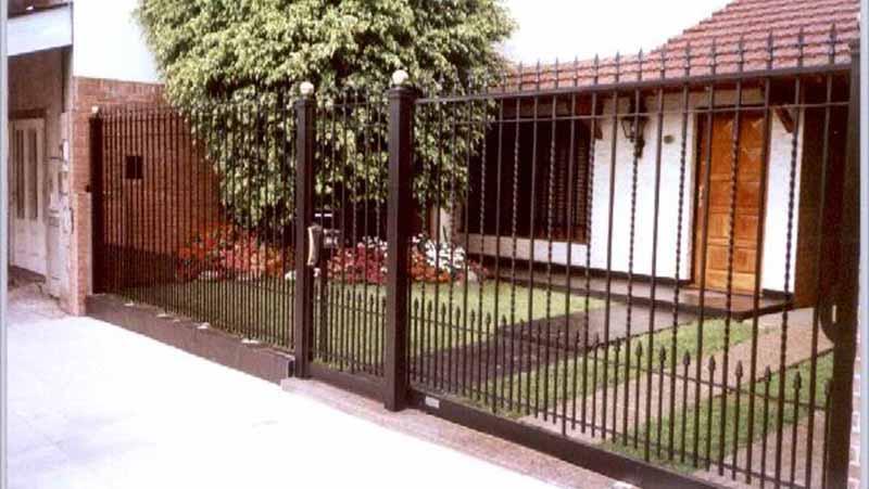 Verjas de hierro beautiful ref valla verja with verjas de - Verjas de hierro ...